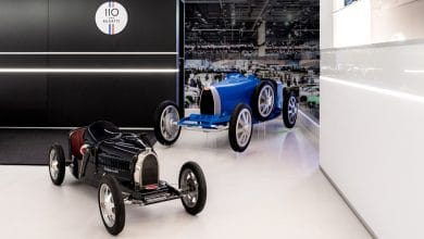 Photo of Bugatti Baby II: carmaker resurrects 1920s mini race car for 110th anniversary