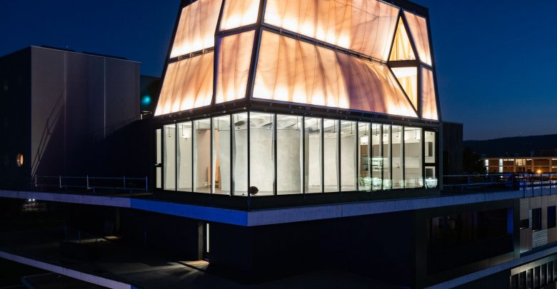 ETH Zurich's smart, 3D printed DFAB HOUSE is now officially