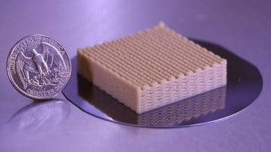 Photo of 3D printed live yeast cells enable more efficient ethanol production