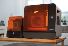 Formlabs Form 3 and 3L LFS 3D printers