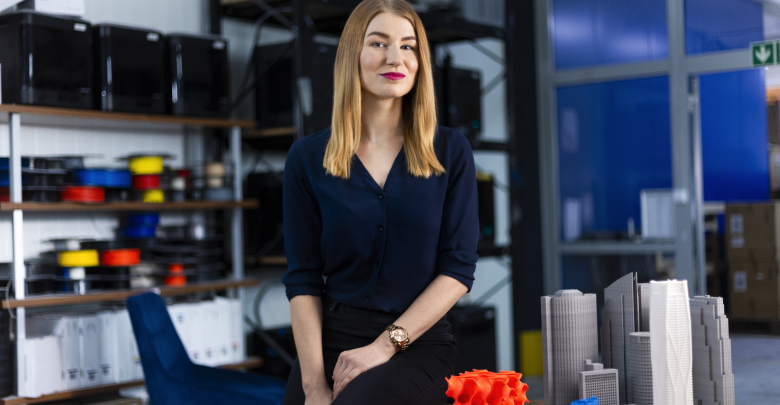 Karolina Bołądź Zortrax interview