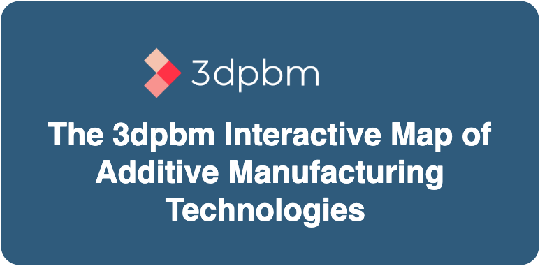 Photo of The 3dpbm interactive map of commercially available AM technologies