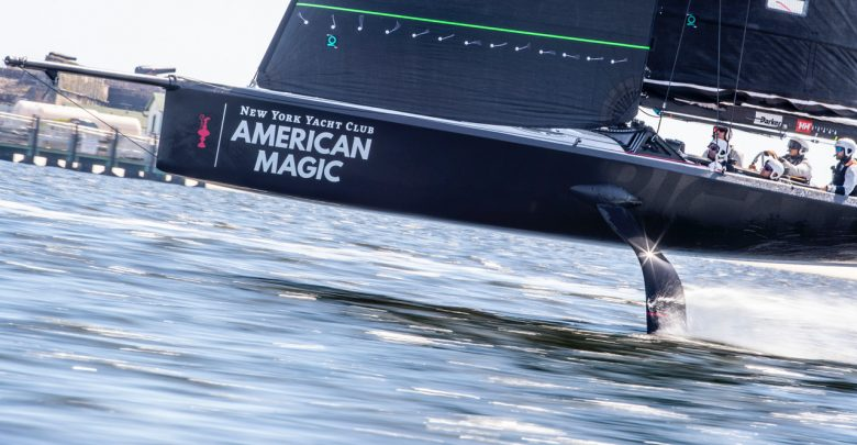 American Magic Stratasys sailing