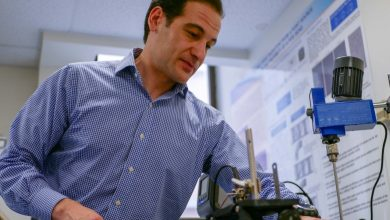 Photo of Engineer combines ice and ultrasonic waves to inspect 3D printed parts