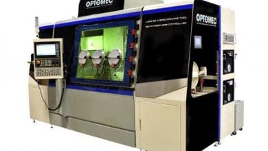 Photo of Optomec presents simultaneous five-axis metal AM capability