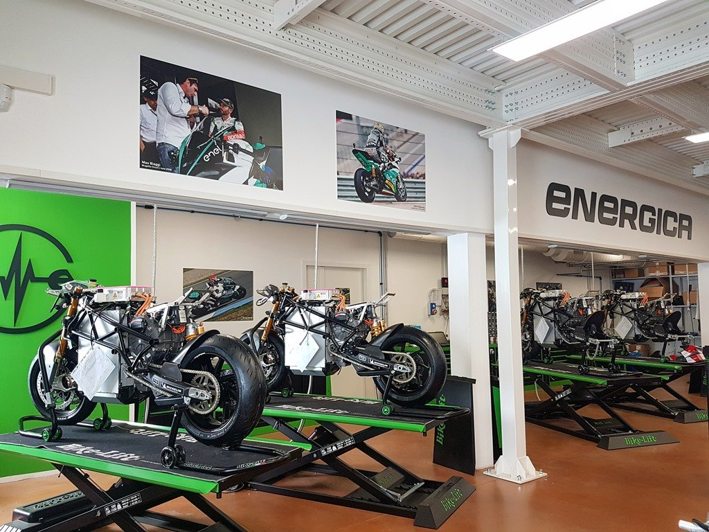 Energica Ego Corsa back on track