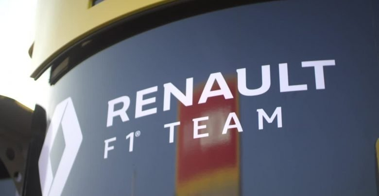 Renault F1 Team Volume Graphics