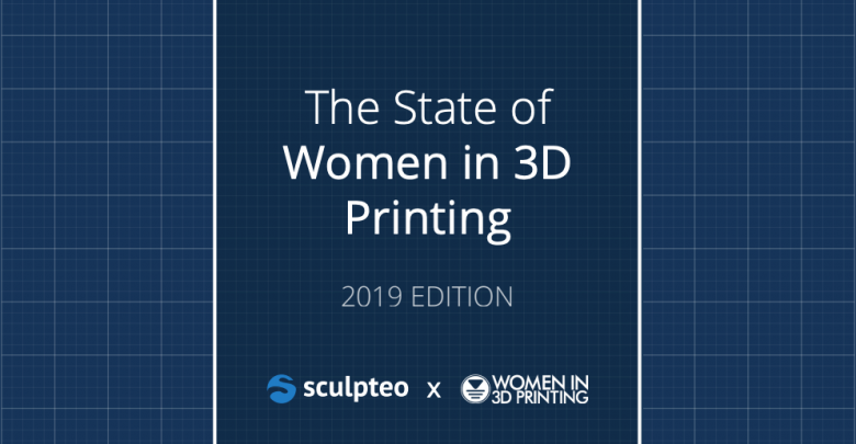 Sculpteo State of Women in 3DP