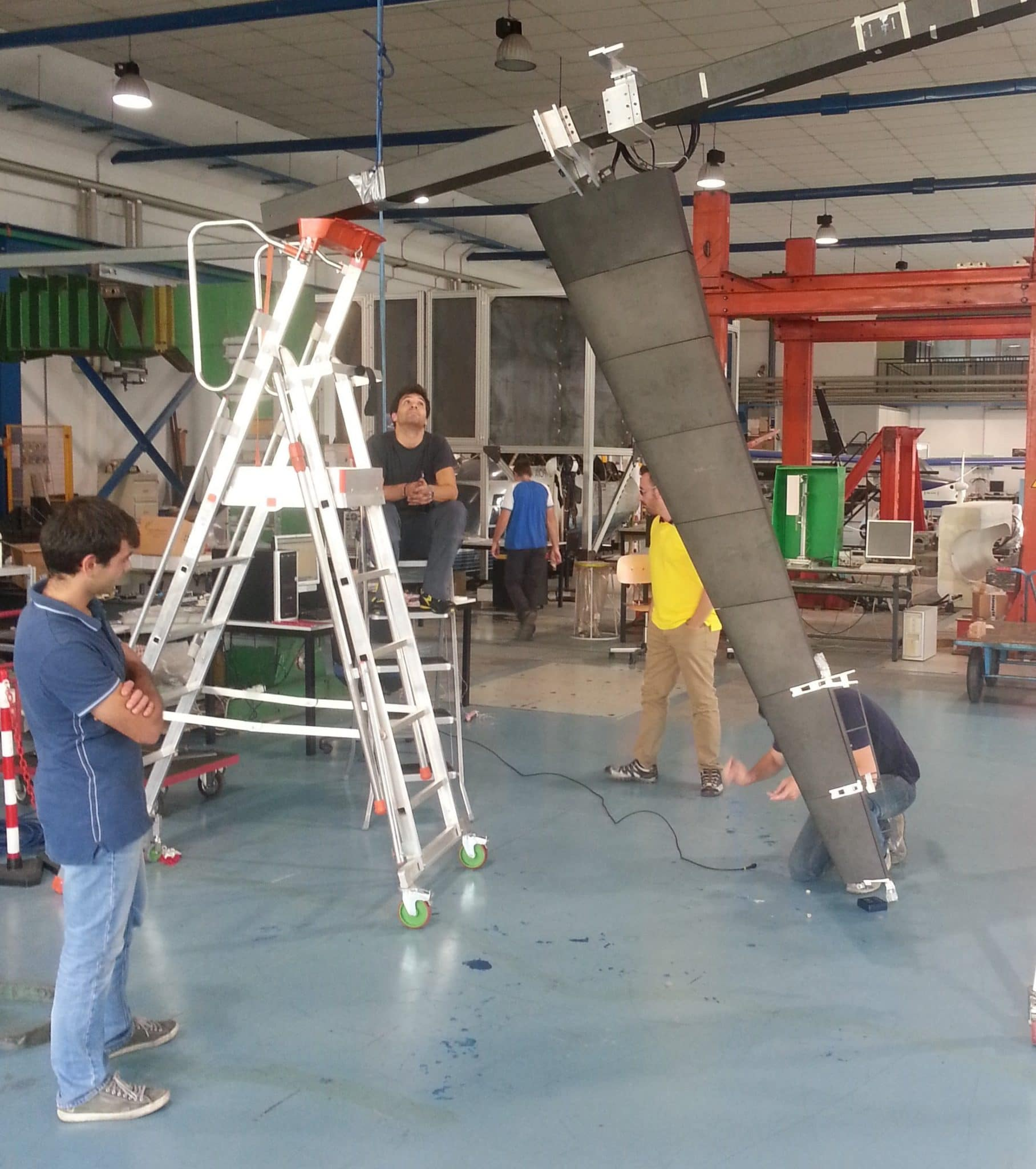 CRP Technology PoliMi wind tunnel