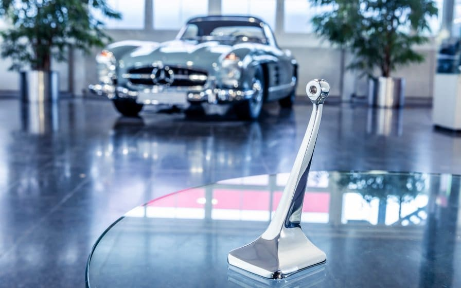 Mercedes 3D printed spare parts
