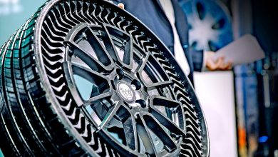 Photo of Michelin and GM present airless, 3D printed and recyclable Uptis tire of the future
