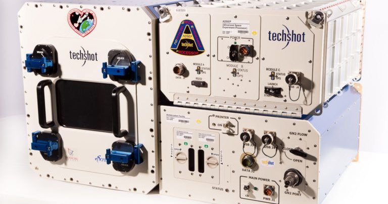 Techshot nScrypt Bioprinter space