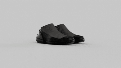 Photo of One small step in a fully 3D printed shoe…