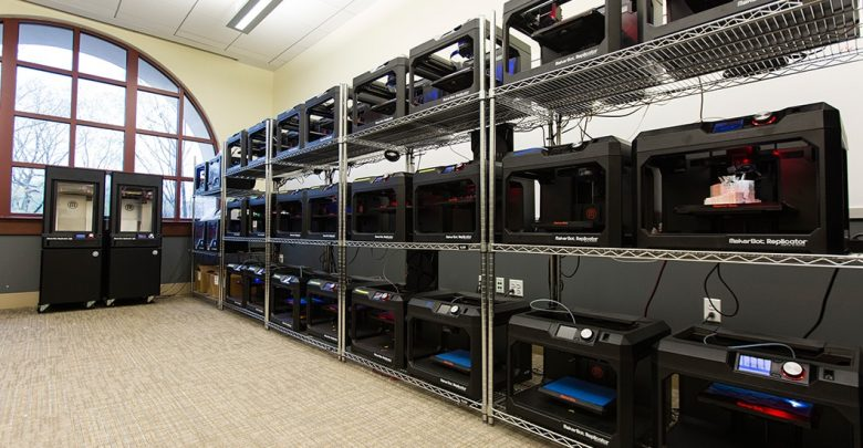 Photo of St. John's University in NYC opens new MakerBot Innovation Center