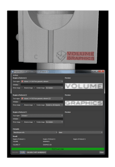 Volume Graphics 3.3 software