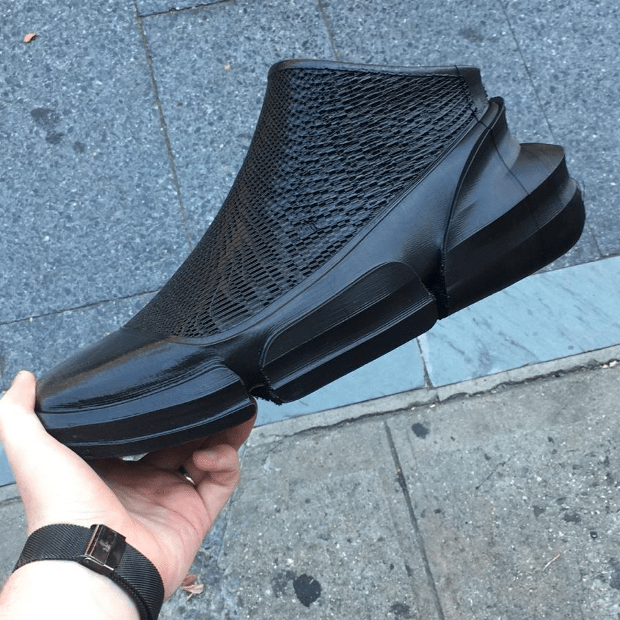 fully 3d printed shoe