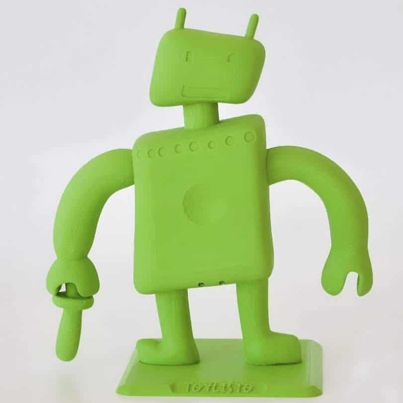Antimicrobial 3D Printed Toys