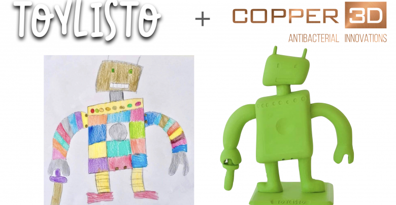 Photo of Copper 3D and Toylisto collaborate to produce antimicrobial 3D printed toys for sick children