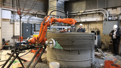 Penn State construction 3D printing