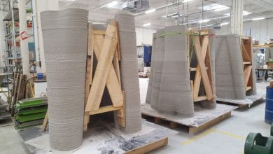 Photo of XTreeE 3D printing 12-meter-tall telecoms towers that blend into landscape