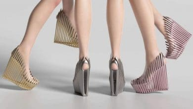 Photo of Ica & Kostika launch spectacular generative 3D printed shoe collection in metal and plastic