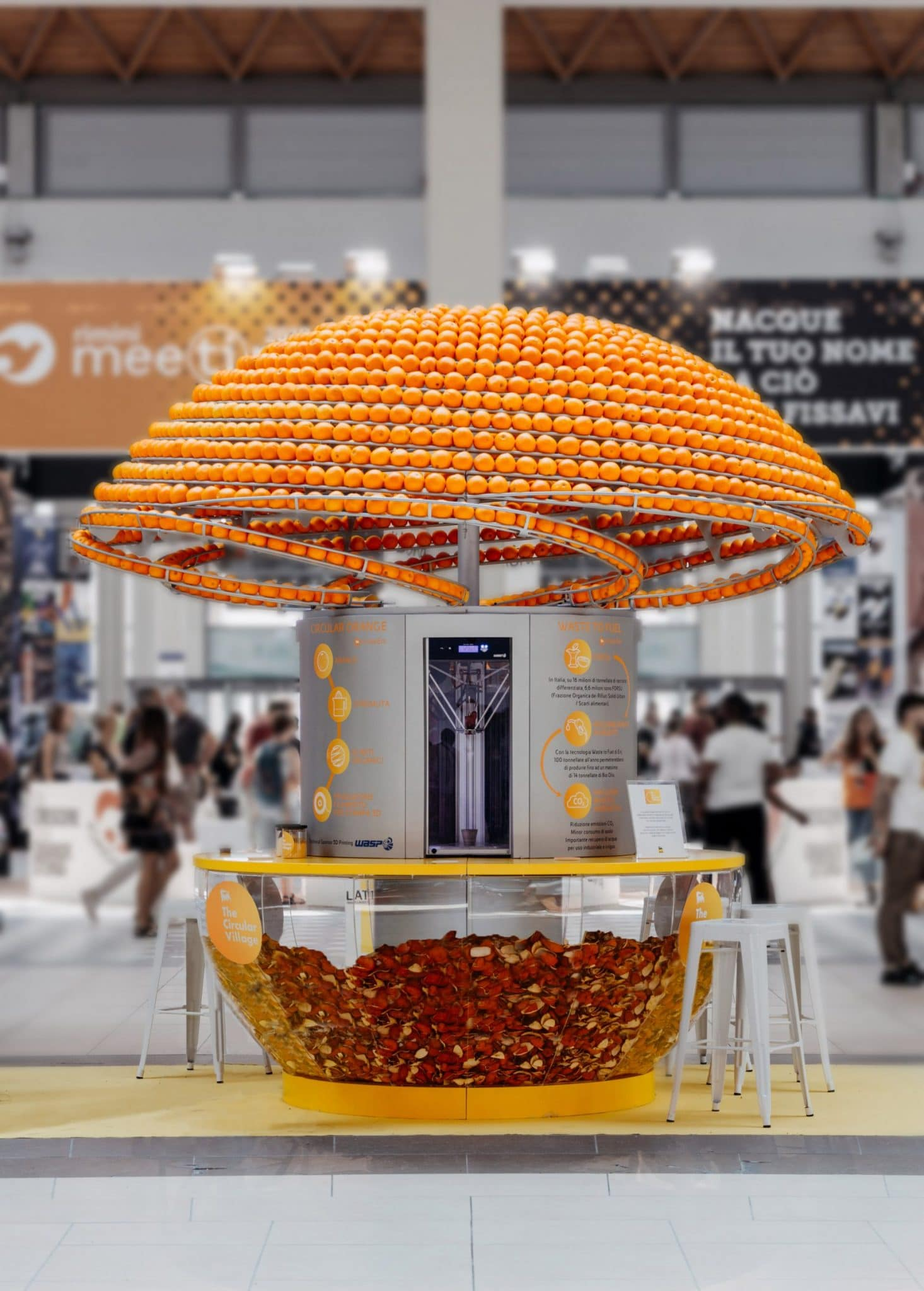 Carlo Ratti Feel the Peel orange