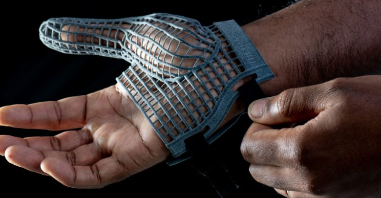 Photo of Jaguar Land Rover developing 3D printed protective glove for workers