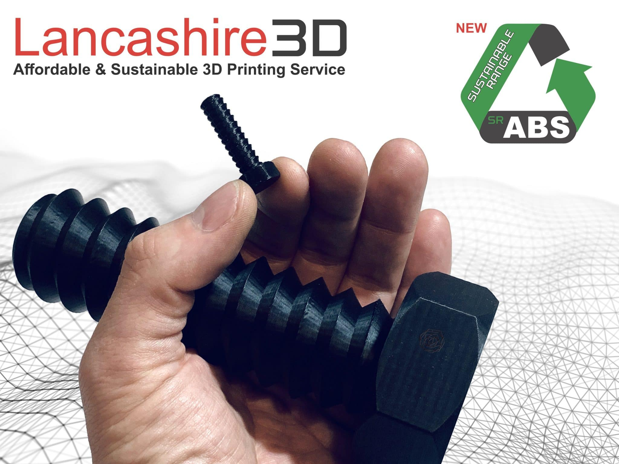 Lancashire3D Sustainable Range