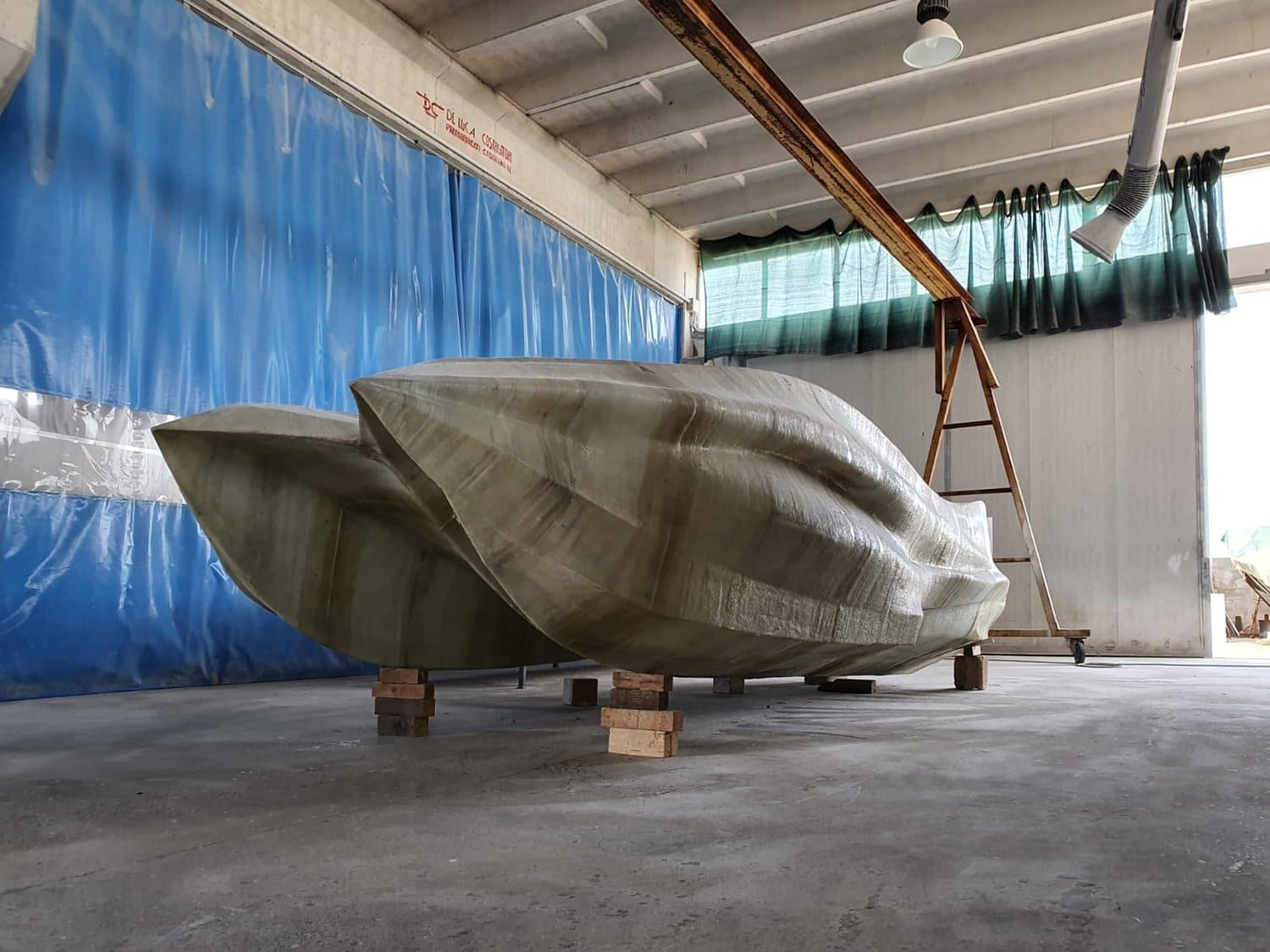 moi composites 3D printed boat
