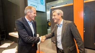 Photo of Rösler AM Solutions and HP developing automated post-processing equipment for MJF
