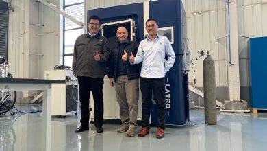 Photo of Inside Latec, a Chinese DED and PBF metal 3D printer factory startup