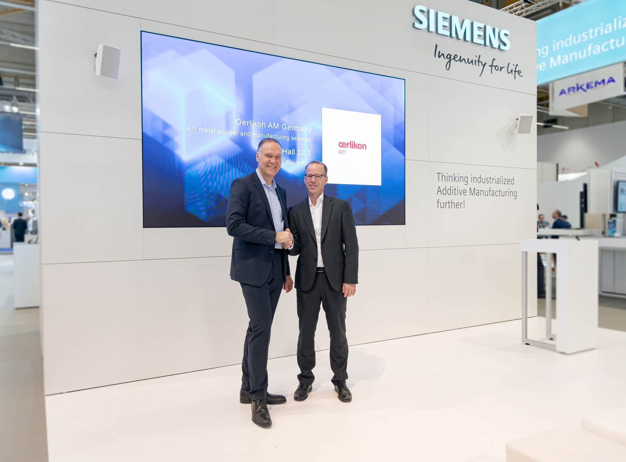 Siemens AM Network Formnext