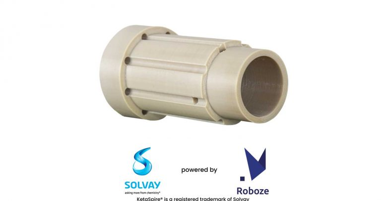 Photo of Roboze adds KetaSpire PEEK from SOLVAY to range of supported materials