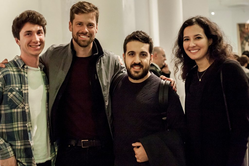 Shapemode CEO Salvatore Saldano, third from the left, with the team behind the SIKKA project at the award ceremony