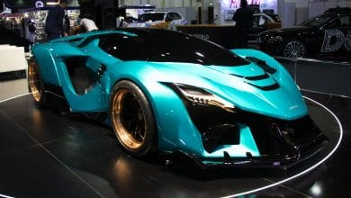 Photo of 3D printed dragon heats up debut of Ajlani Motors' Drakuma supercar