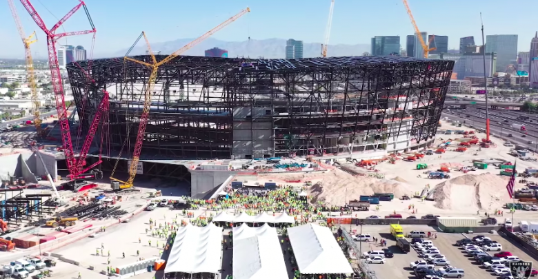Photo of New Allegiant NFL stadium will house largest 3D printed structure in the world