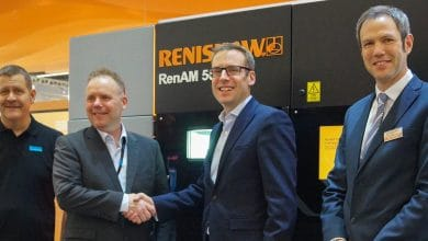 Photo of Sandvik and Renishaw qualifying new metal powders for AM