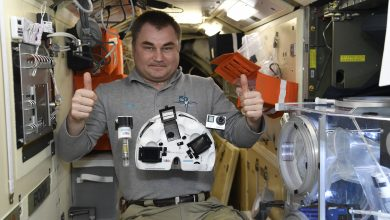 Photo of ISS cosmonauts bioprint bone tissue in space using 3dbio's magnetic bioprinter