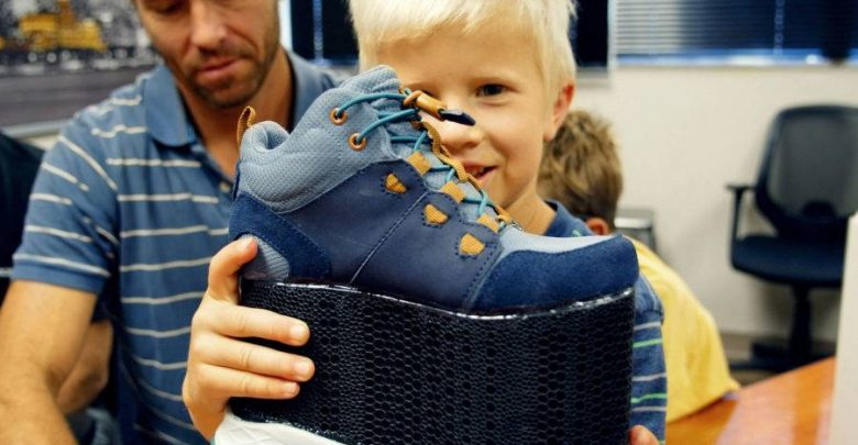 Custom 3D printed footwear Imre