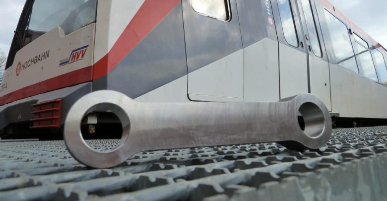 Photo of First 3D printed safety-relevant part approved in the railway sector