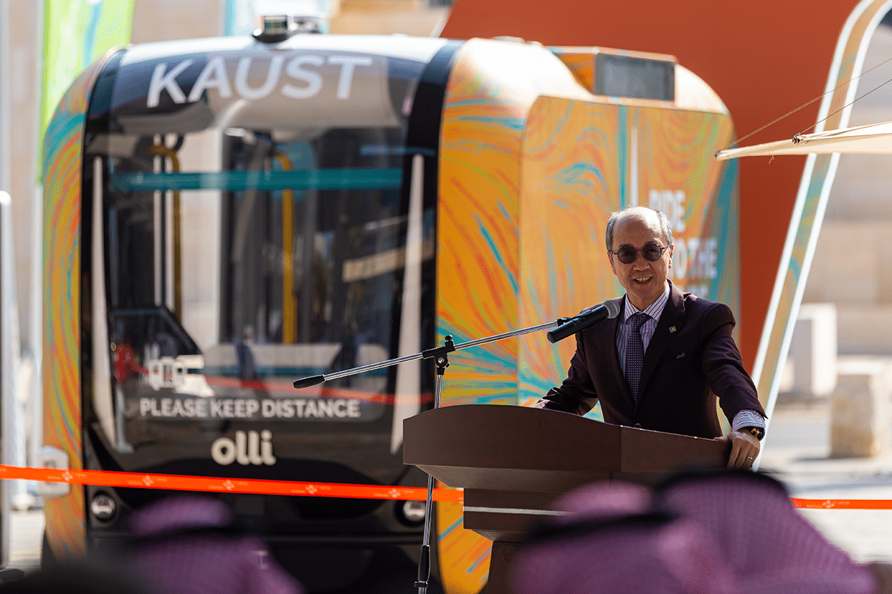 KAUST Local Motors Olli shuttle