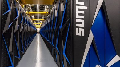 Photo of ORNL supercomputer helping GE Additive analyze AM data