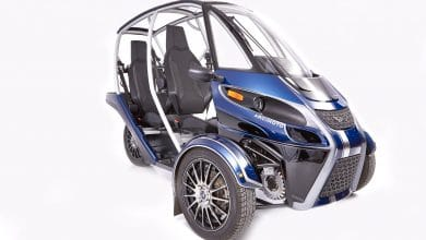 Photo of Arcimoto and XponentialWorks lightweight Fun Utility Vehicle using DfAM