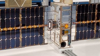 Photo of Lockheed Martin's Pony Express 1 satellite features 3D printed parts