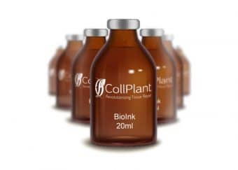 CollPlant 3D Systems bioprinting partnership