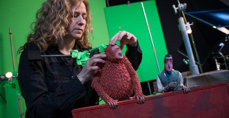Photo of Golden Globe winner Missing Link got a boost from color 3D printing