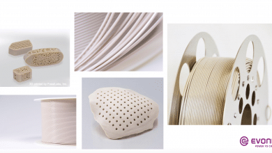 Photo of FossiLabs presents 3D printed PEEK bone-like scaffolding structures