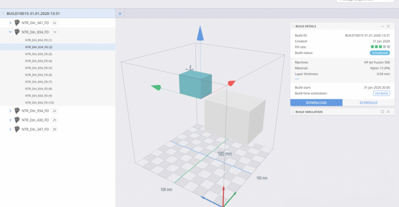 Photo of AMFG adds build preparation feature to MES software