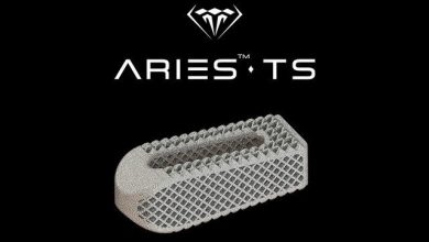Photo of Osseus unveils Aries-TS, 3D printed transforaminal lumbar interbody device