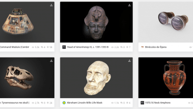 Photo of Sketchfab introduces 3D model CC0 dedication for cultural institutions